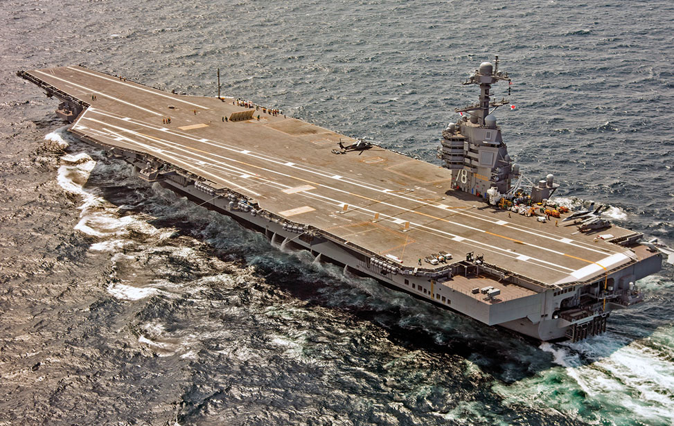 Aircraft Carrier Gerald Ford Class
