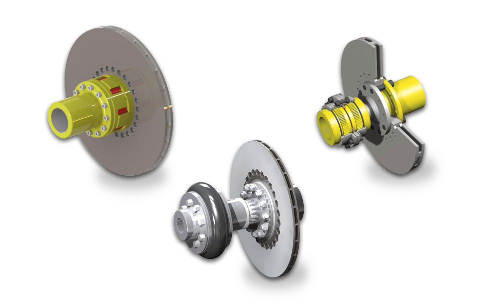 Discs with Couplings