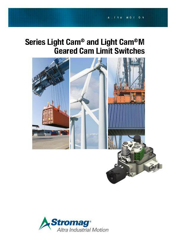 (A4) Geared Cam Limit Switches Light Cam® and Light Cam®M