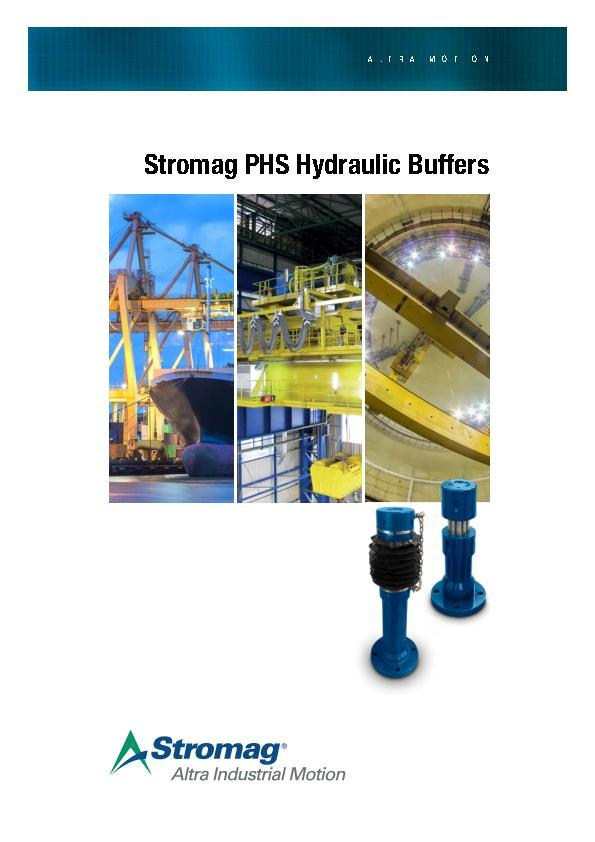 (A4) Stromag PHS Hydraulic Buffers