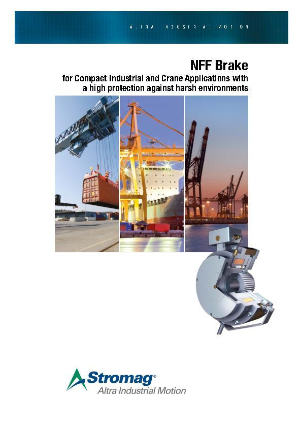 (A4) NFF Brake for Compact Industrial and Crane Applications