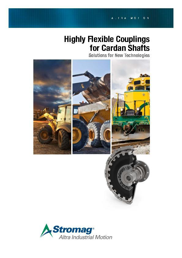 (A4) Highly Flexible Couplings for Cardan Shafts