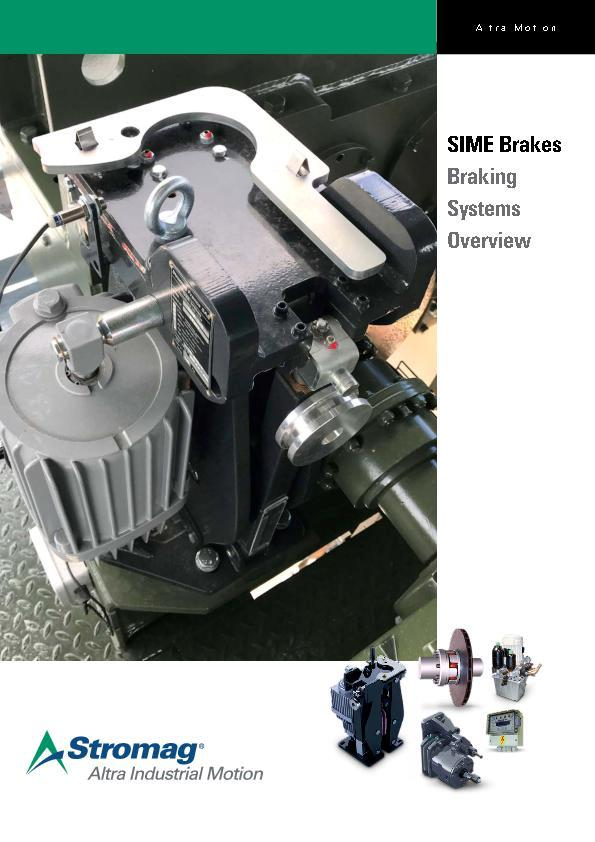 SIME Brakes Industrial Braking Systems
