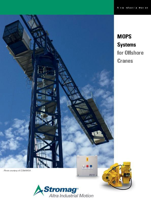 (A4) MOPS Systems for Offshore Cranes