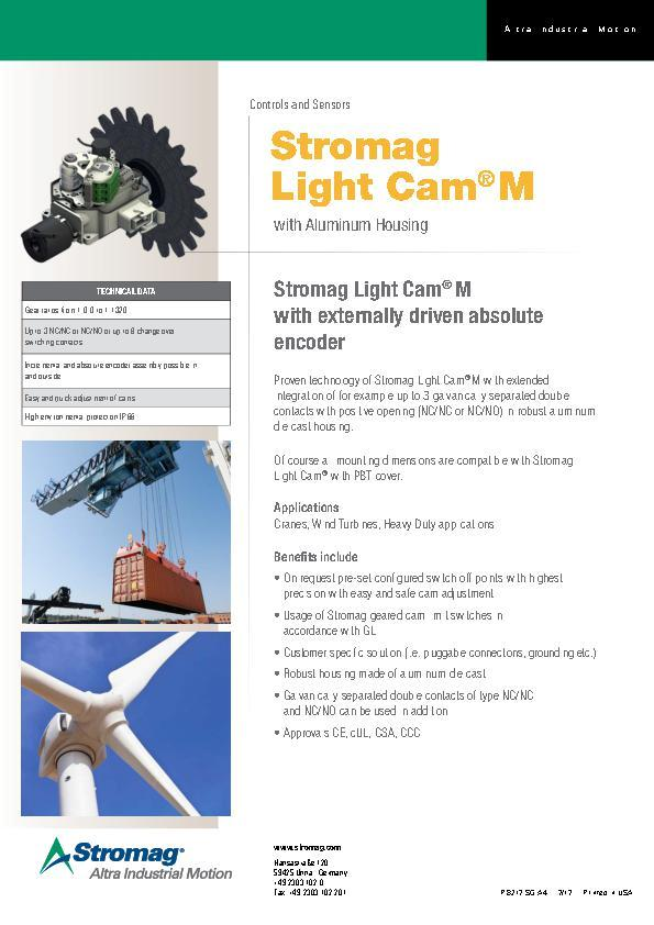 (A4) Stromag Light Cam® M